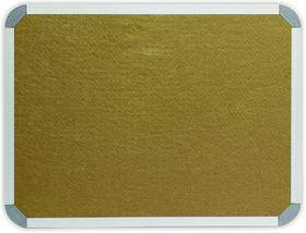 Parrot Info Board Aluminium Frame - Beige Felt (1200 x 1000mm)