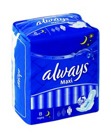 Always Maxi Night Extra Long - 8s