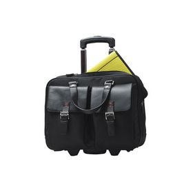 Eco Europa Laptop Trolley Bag - Black