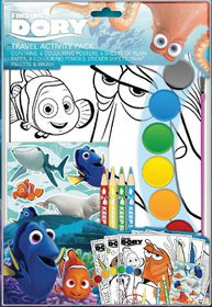 Finding Dory Travel Activity Pack