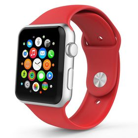 Tek88 Apple Watch Silicone Sports Band 42mm - Red