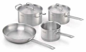 Beka - Gusto 6 Piece Cookware Set - Silver