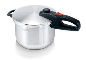 Beka - 4 Litre Pressure Cooker - Silver