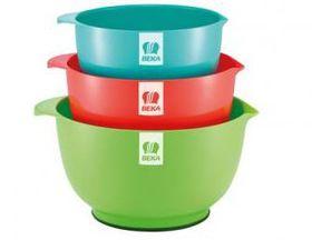 Beka - 3 Piece Mi xing Bowl Set 1 - Multi-Coloured
