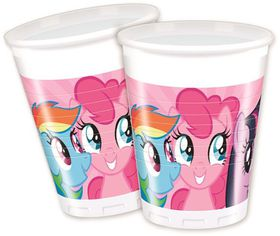 My Little Pony Rainbow Pony Plastic Cups