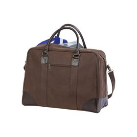 Eco Out Of Africa Novahide Travel Bag - Brown
