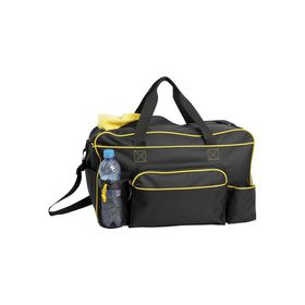 Eco Dual Water Bottle Holder Sports Bag - Yellow