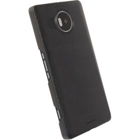 Krusell Boden Cover for the Microsoft Lumia 950XL  Transparent - Black