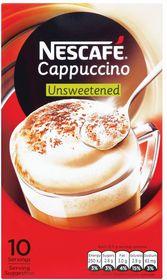 Nescafe Cappuccino - Unsweetened
