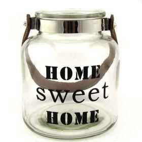 Pamper Hamper Home Sweet Home Glass Jar