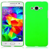 Protective Matte Gel Skin Cover Case for the Samsung Galaxy J7 - Lumo Green