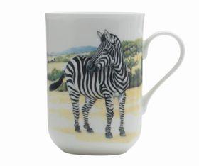 Maxwell and Williams - Cashmere Animals Of The World Mug Zebra - 300ml