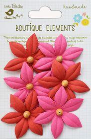Little Birdie Beaded Lilies - Cerise Pink
