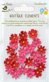 Little Birdie Beaded Micro Florettes - Cerise Pink