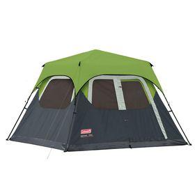 Coleman - 6 Man Instant Cabin Tent & Flysheet - Green