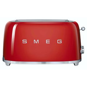 Smeg - 4 Slice Toaster - Fiery Red