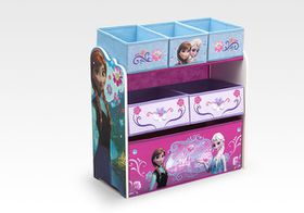 Disney - Frozen Multi Bin Toy Organiser - Blue and Purple