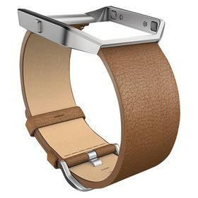 Fitbit Blaze Accessory Band Leather Camel - Small