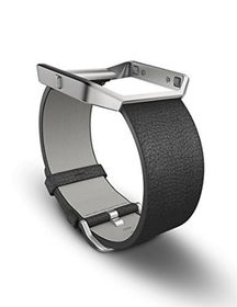 Fitbit Blaze Accessory Band Leather Black - Large