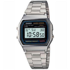Casio Mens A158WA-1Q Retro Digital Watch