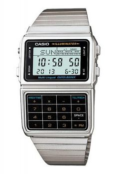 Casio Mens DBC-611-1DF Data Bank Calculator Watch