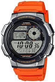 Casio Mens AE-1000W-4BVDF World Time Sports Digital Watch