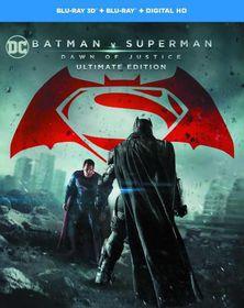 Batman V Superman - Dawn of Justice: Ultimate Edition (3D & 2D Blu-ray)
