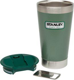 Stanley - Classic 470ml Vacuum Pint - Green & Steel