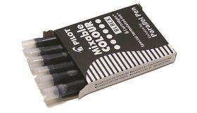 Pilot Parallel Pen Cartridge Refills - 6 Black