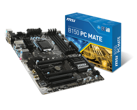 MSI Intel B150 PC Mate Mainboard - Socket LGA1151