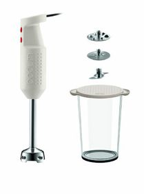 Bodum Bistro Electric Stick Blender Set - White