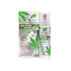 Dr.Organic Hemp Oil Restoring Hair & Scalp Treatment Mousse - 150ml