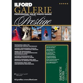Ilford Prestige Smooth Gloss 12 A4 Photo Paper