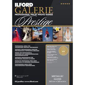 Ilford Prestige Metallic Gloss 10 A2 Photo Paper