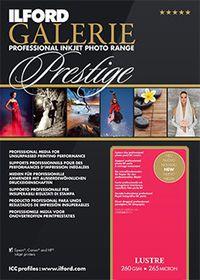 Ilford Prestige Lustre Paper 11 A3+ Photo Paper