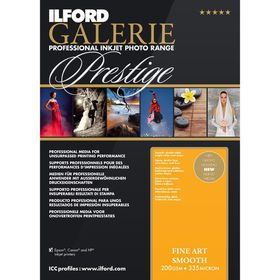 Ilford Prestige Fine Art Smooth A3+ Photo Paper