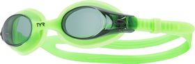 Junior TYR Swimple Goggles - Green
