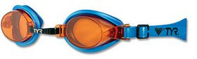 Junior TYR Qualifier Goggles - Amber
