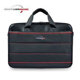 """Port SLR Racing Top Loading Laptop Bag 17.3"""" - Black/Red"""
