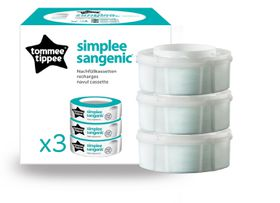 Tommee Tippee - Sangenic Simplee Cassette - 3 Pack - Refill