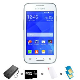 Samsung Trend Neo 4GB 3G White - Bundle 5 incl. R300 airtime + 1.2GB Starter Pack + Accessories