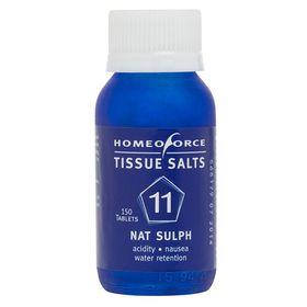 Homeoforce Tissue Salts No. 11 Nat Sulph - 150 Tablets