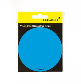 Tower Magnetic Licence Disc Holder - Blue