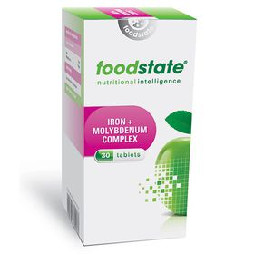 Foodstate Iron & Molybdenum Complex - 30s