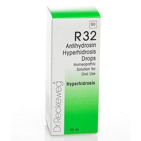 Dr. Reckeweg Antihydrosin Hyperhidrosis Drops - 50ml