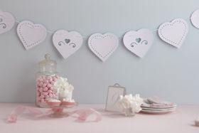 Ginger Ray Love Struck Paper Bunting