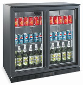 Hoffner Elegance - Beverage and Beer Cooler - Black