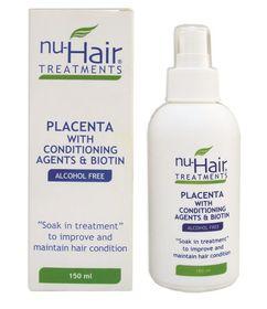 Nu-Hair Placenta Treatment 150ml