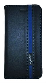 Scoop Executive Folio For Samsung A5 - Black & Blue
