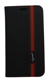 Scoop Executive Folio For Huawei P8 - Black & Red